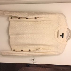 J.Crew Side Button Pullover